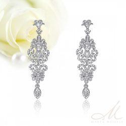 1427f630d Hófehér menyasszonyi ruhához ajánljuk - Esküvői ékszerek - 6 - Marta ...