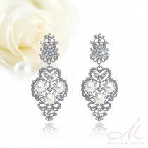 90651b148 Hófehér menyasszonyi ruhához ajánljuk - Menyasszony ékszerek - 2 ...